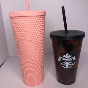 Matte studded tumbler bundle